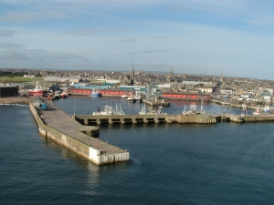 Fraserburgh Harbour Scotland