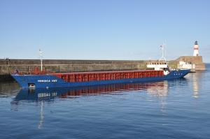 Commercial cargo at Fraserburgh Harbour